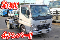 MITSUBISHI FUSO Canter Container Carrier Truck PDG-FE73D 2008 112,767km_1