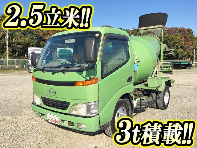 HINO Dutro Mixer Truck KK-XZU301E 2002 49,932km_1