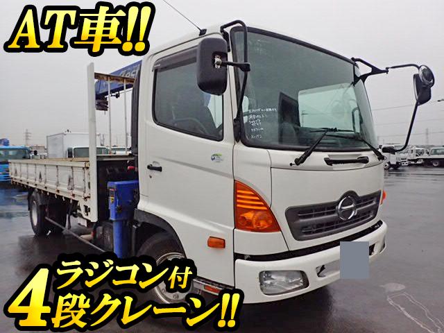 HINO Ranger Truck (With 4 Steps Of Cranes) BDG-FC6JKWA 2011 83,000km_1